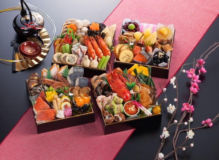 O Bento - Marmitas Japonesas - A arte da Culinária - osechi ryori obento 2