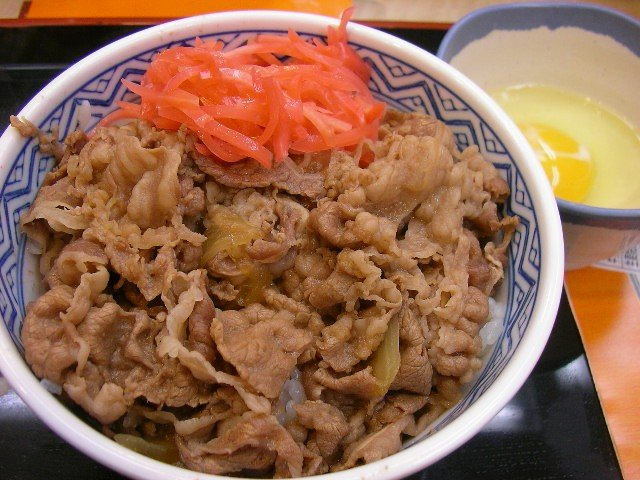 Como gastar pouco com comida no japão? - gyudon by jetalone in higashi ginza tokyo 1