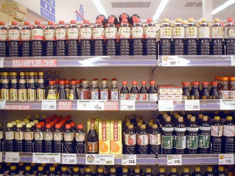 Alimentos japoneses, derivados de la soja
