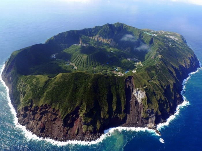 Aogashima - isla volcánica