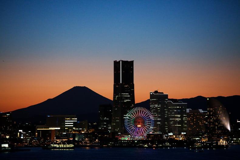 Os melhores locais para ver o monte fuji