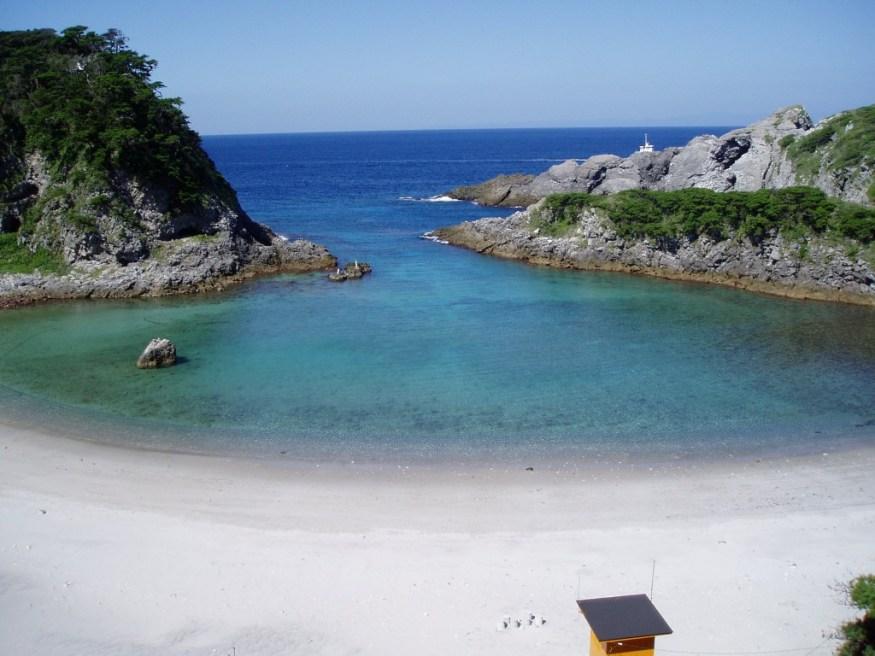 Shikinejima - uma ilha tropical