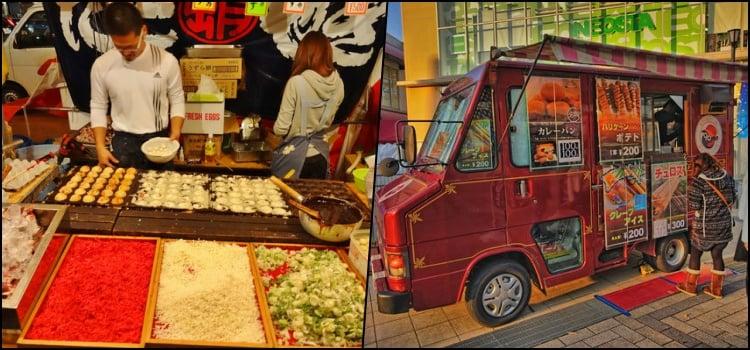 Yatai - Conheça as comidas de rua do Japão - kare takoyaki 1