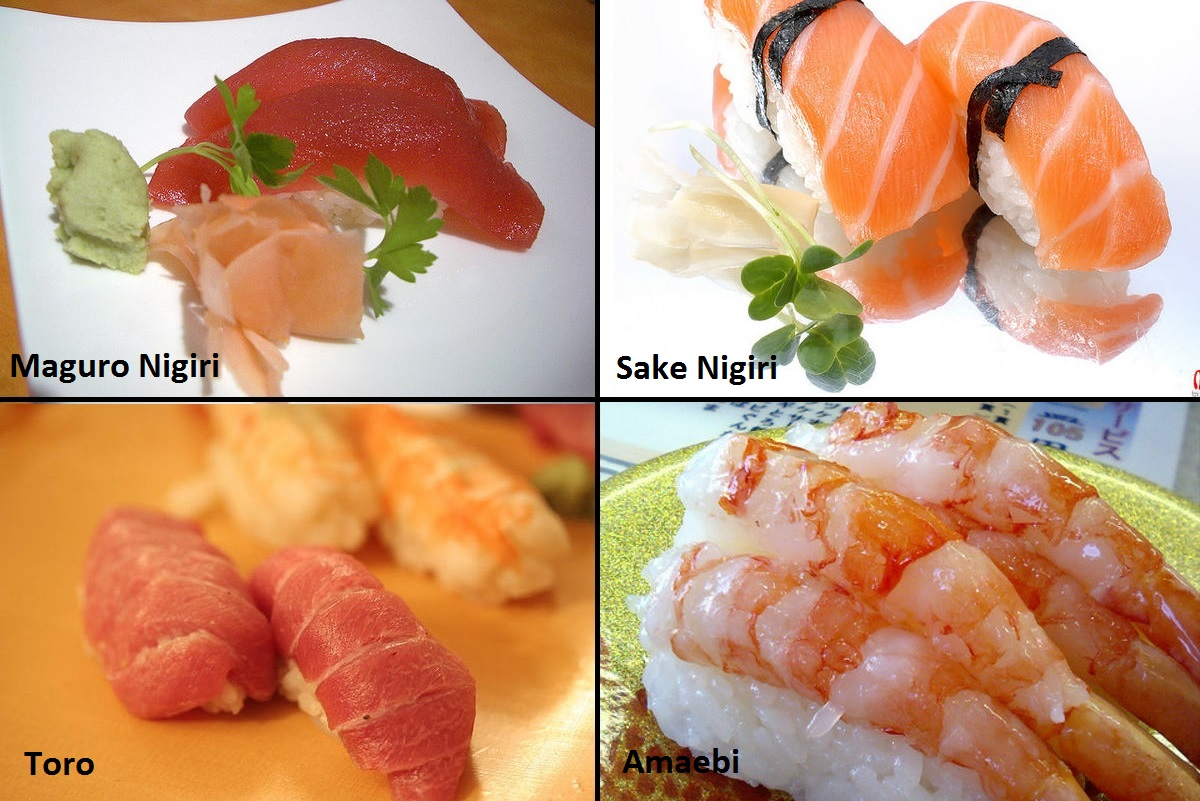Tipos de sushi, makis e nigiri - Guia Completo