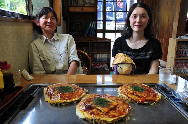 Okonomiyaki - panqueque japonés - curiosidades y receta