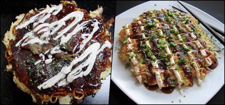 As 100 comidas japonesas mais populares do Japão - okonomiyakis 8