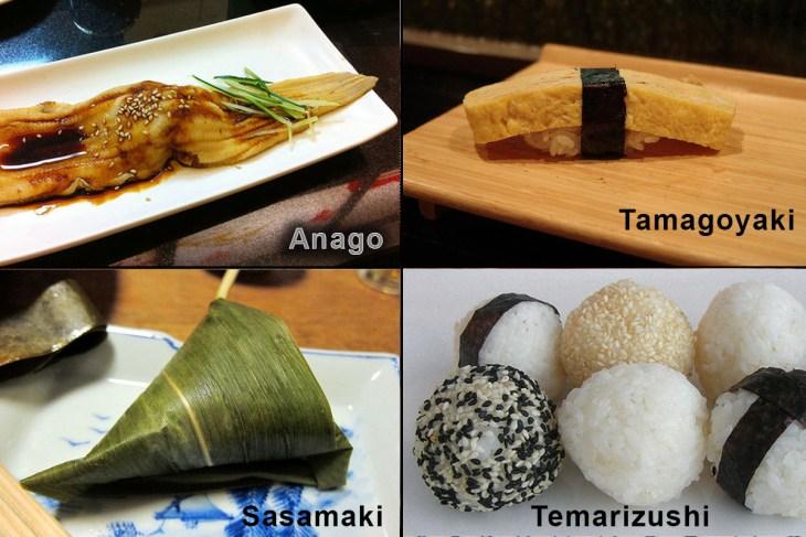 sushi estranhos