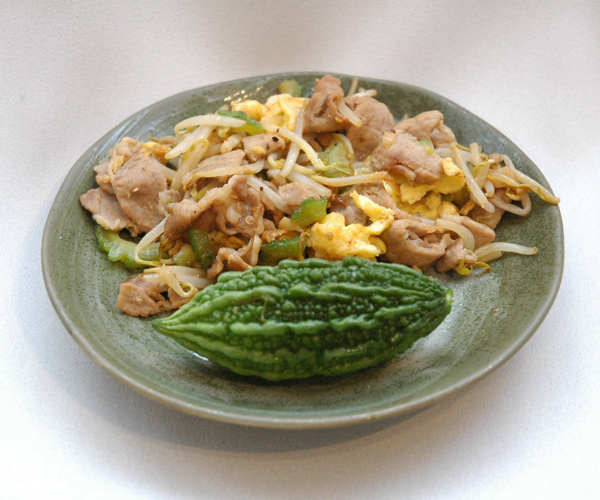 Goya Chanpuru - Um prato amargo de Okinawa - Goya Chanpuru Large 1