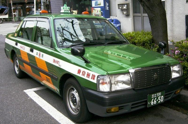 Como pegar táxi no japão?