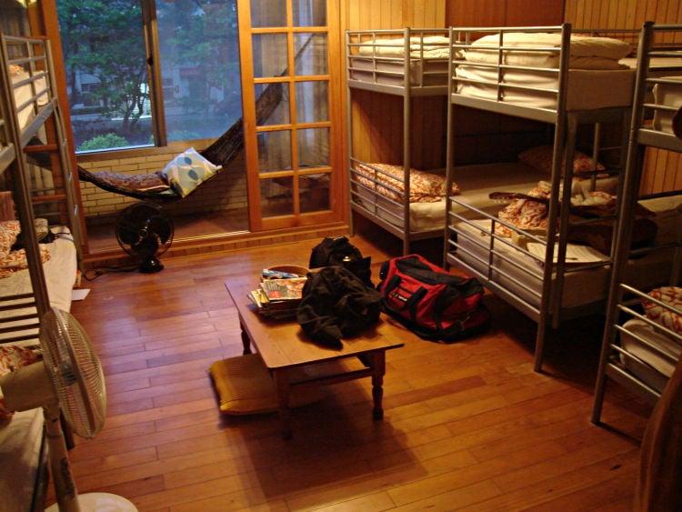 Tipos de hospedagens e acomodações no Japão - hostel hospedagem 2