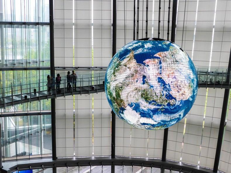 Miraikan - Museu Nacional de Ciência Emergente e Inovação - miraikan museu 2 2
