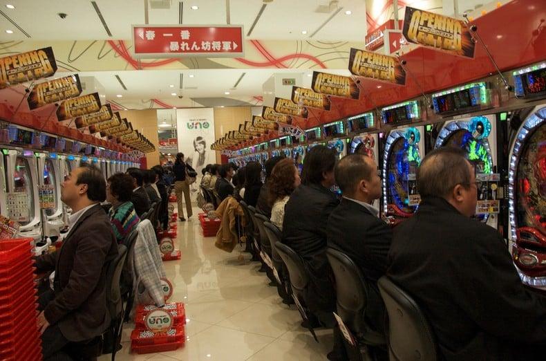 Paixões e estereótipos - coisas que descrevem os japoneses - pachinko jogos 2