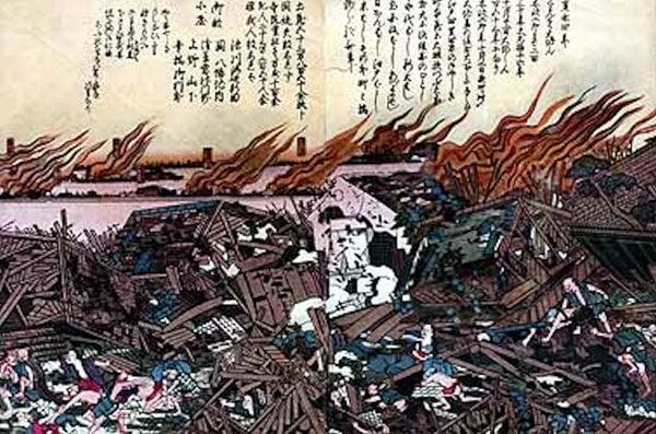 É preciso ter medo de terremoto no Japão? - terremoto ansei 1