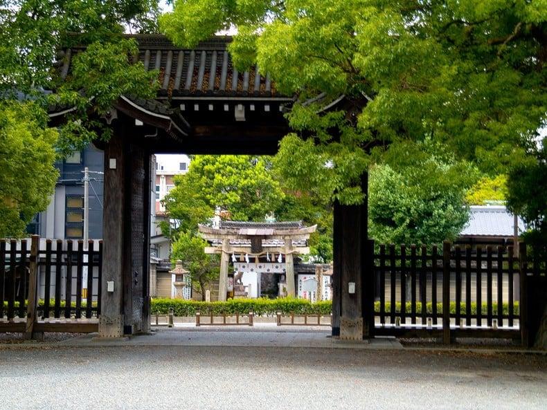 O parque e Jardim do Palácio Imperial de Kyoto 3