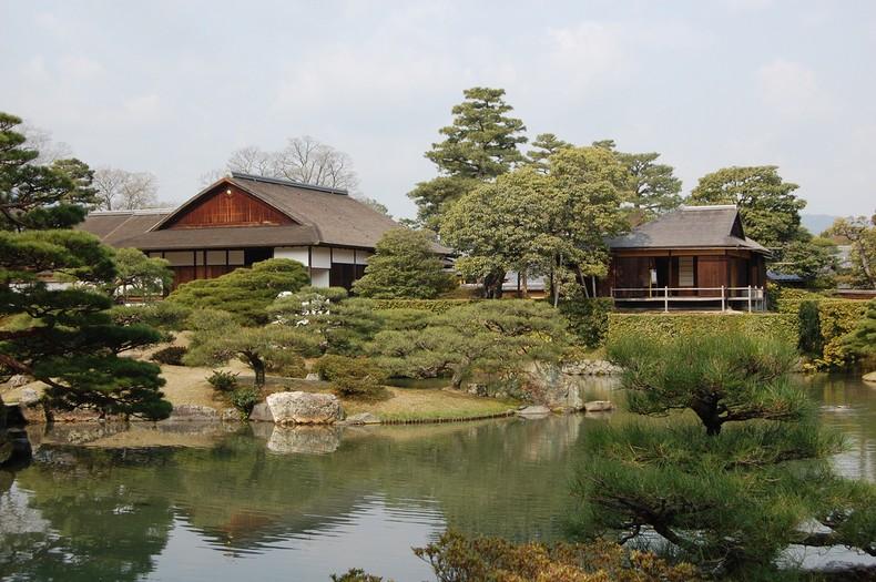 O Parque e Jardim do Palácio Imperial de Kyoto - sento palacio imperial kyoto 1
