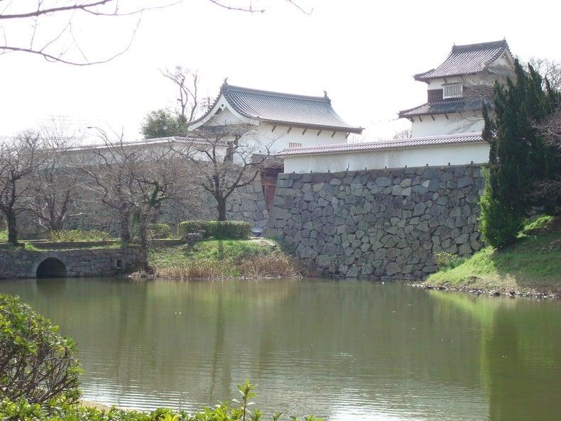 Castelo de fukuoka - parque maizuru