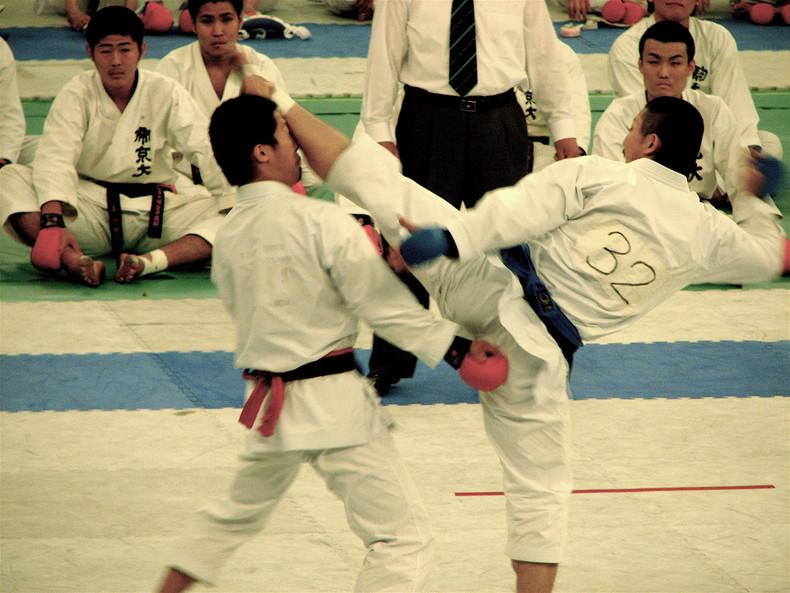 As 10 artes marciais japonesas + lista karate(do) [空手道] - a arte das mãos vazias