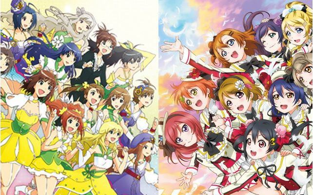 Conheça um pouco as Idols japonesas - the idolm@ster love live 2