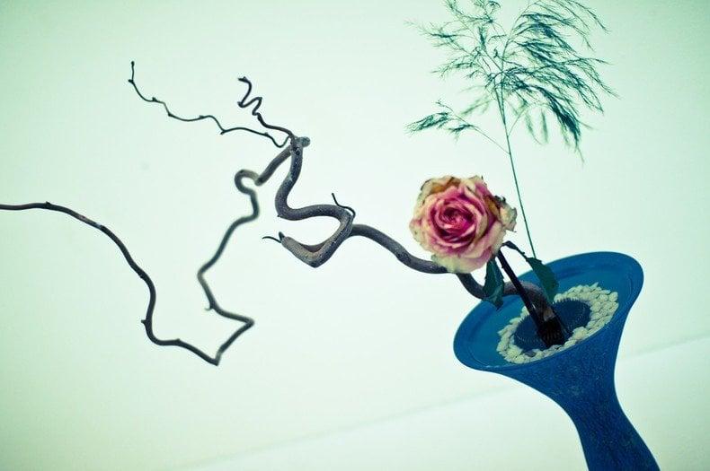 Ikebana - a arte japonesa dos arranjos florais - ikebana flores capa 2