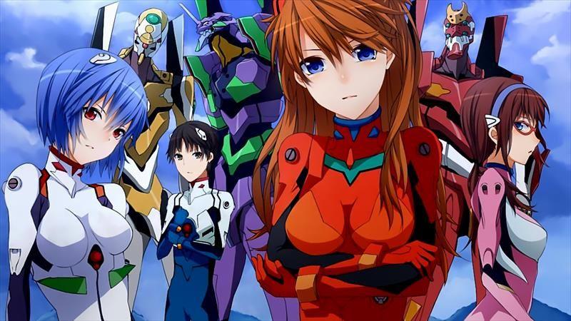 Meka - Animes de Robôs Gigantes - Origem e Curiosidades - Evangelion 333 03 8