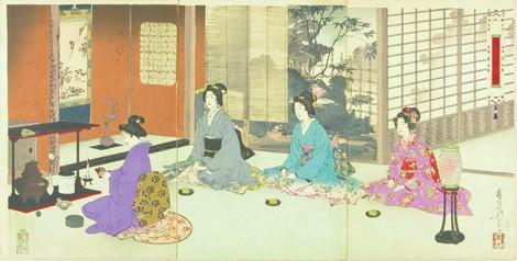 Conheça a Cerimônia do chá - cha cerimonia 1