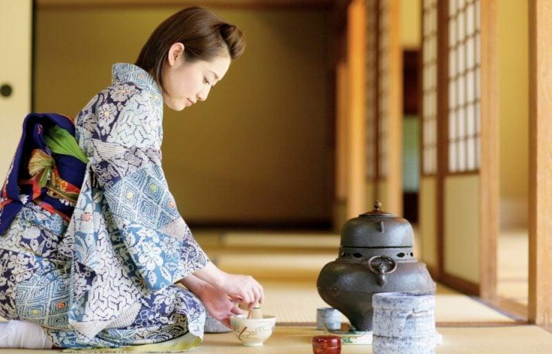 Cerimônia do chá Japonesa - Tudo sobre Chanoyu - cha1 4