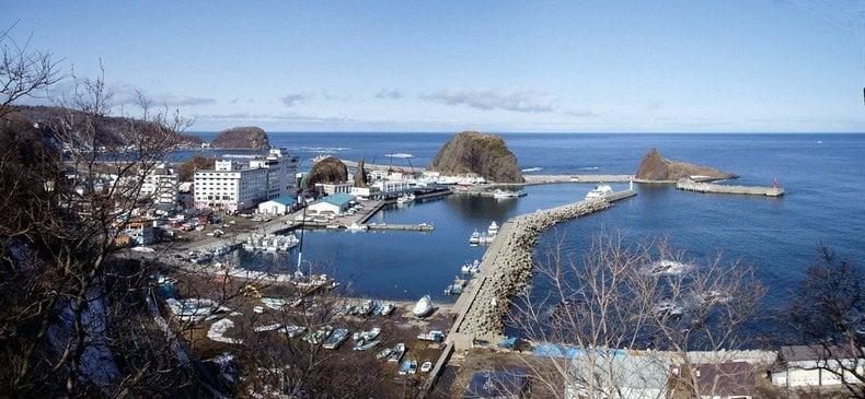Hokkaido - O caminho do mar e da neve - attractive harbor of utoro 1265 4