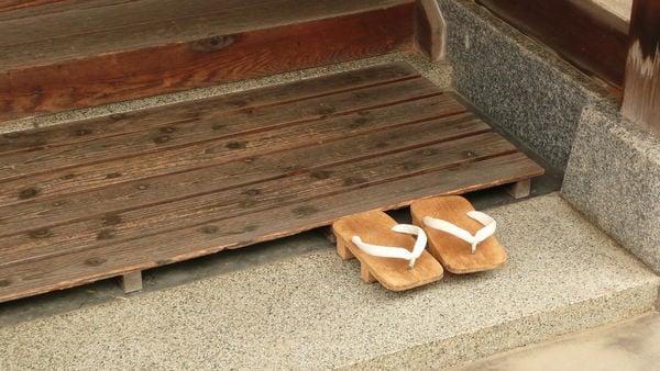 Geta-일본 목재 신발