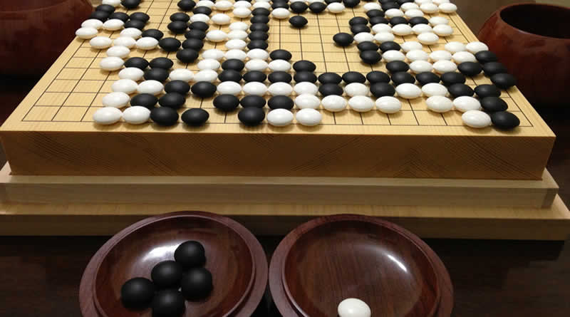 Go - juegos tradicionales japoneses