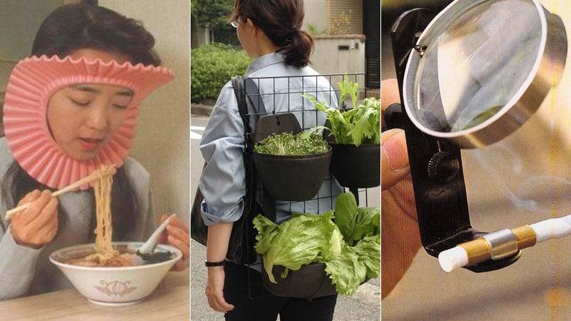 Los productos japoneses más extraños de la tienda de tendencias de Japón