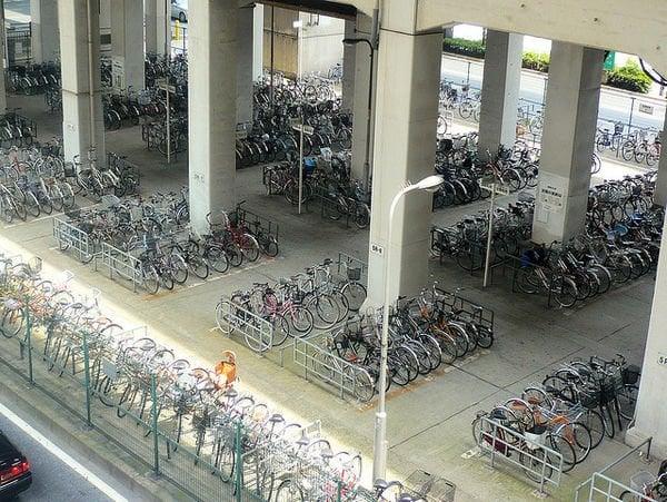 As bicicletas no Japão 4