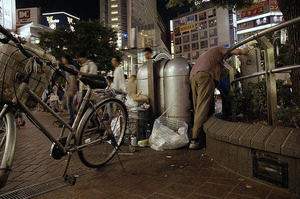 Os invisíveis moradores de rua no japão