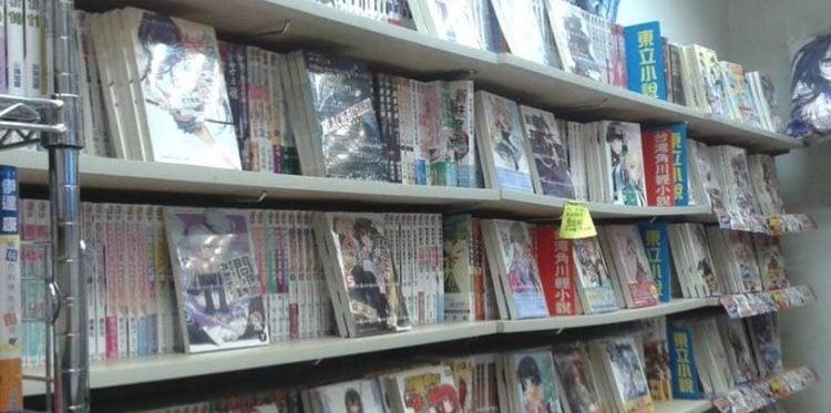 Wo kann man eine komplette Sammlung von Manga und Romanen kaufen?