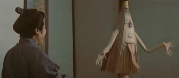 Cena do filme Yôkai hyaku monogatari 1968