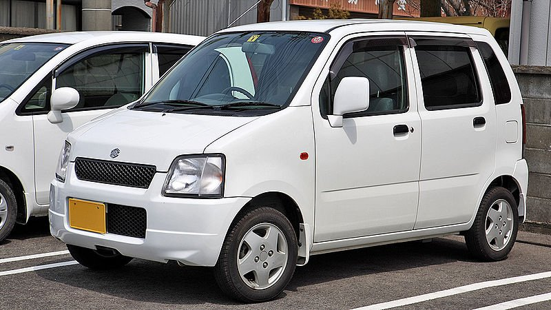 How long takes to travel to Japan? - Suzuki Wagon R 2