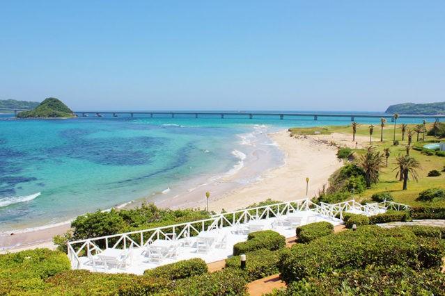 Ilha de tsunoshima e a ponte mais bela do japão