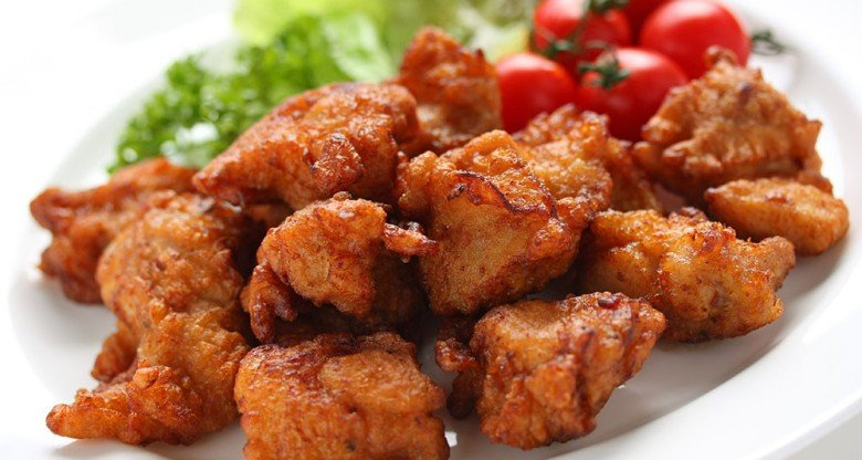 Karaage - Técnica japonesa para fritar - karaage frango frito 1