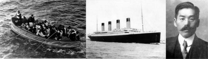 O japonês que sobreviveu ao Titanic 1