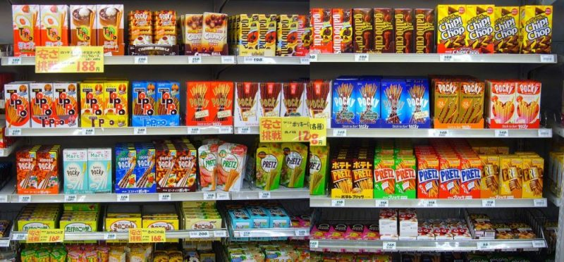 Pocky -  palito doce do japão - pocky sabores doce