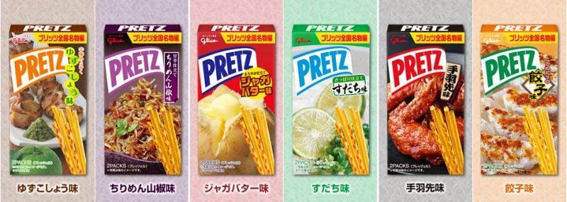 Pocky -  palito doce do japão - pretz pocky