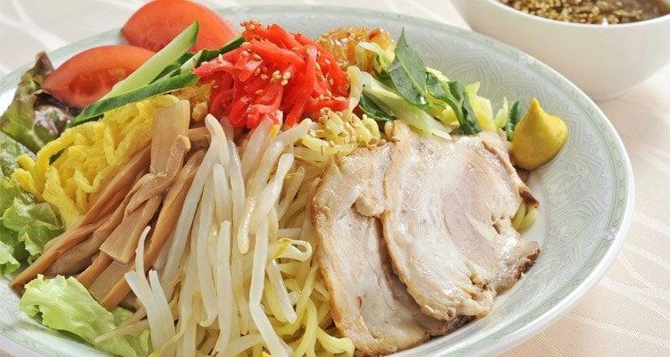 Hiyashi chuka – macarrão gelado