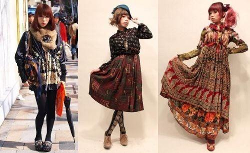 Guia de estilos do japão - visual kei, decora, harajuku - moda harajuku 1