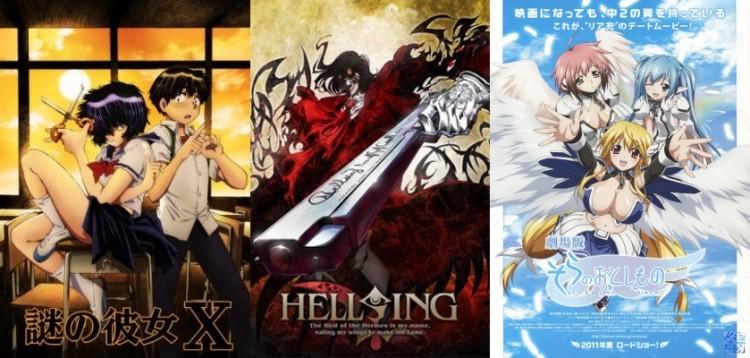 14 animes inspirados em mangás - by leonardo