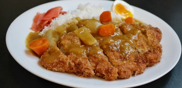 Curiosidades e receita de Kare japonês (curry) - tonkatsu curry 2