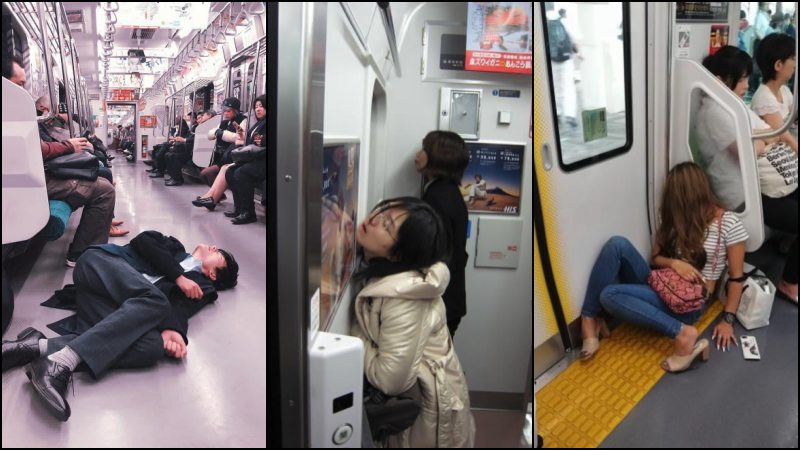 Inemuri - Japanese napping in public places