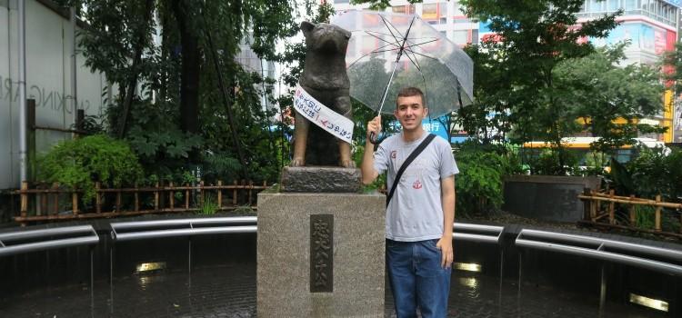 Conheça todos e Bairros de Tóquio - hachiko 1
