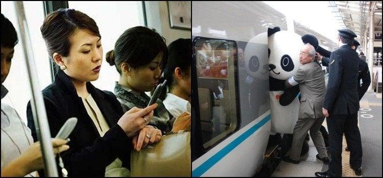 8 kiểu người chúng ta gặp trên tàu hỏa ở Nhật Bản