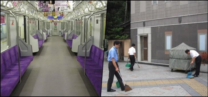 O que faz o Japão ser um país limpo e verde?