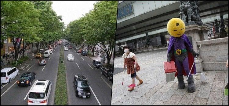 Como os alunos fazem a limpeza das escolas no japão?