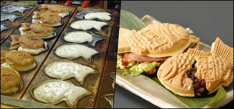 Taiyaki - o famoso bolinho em formato de peixe